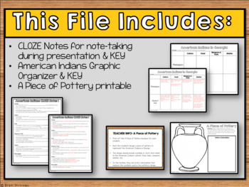 GA Studies: American Indians (SS8H1)