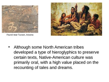 Native American Cultures PowerPoint to go with Notes