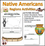 Native Americans Unit Bundle of Printables Worksheets and Projects
