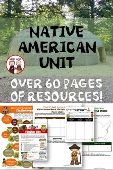 Native Americans Unit Including Native American Regions