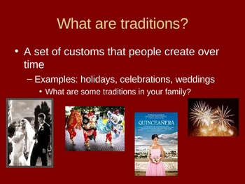 Native American Customs and Traditions Powerpoint