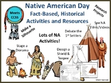 Native American Day: Fact-Based, Historical Activities & Resources