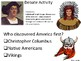 Native American Day: Fact-Based, Historical Activities & R