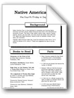Native American Day: Making Books