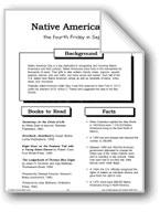 Native American Day: Making Books