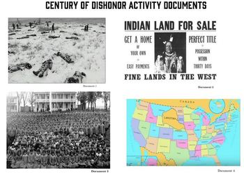 Native American Decline Document Analysis Activity Package