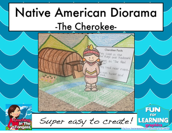 Native American Diorama: The Cherokee Tribe
