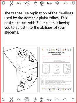Native American Studies Craft: Dwellings 3-Pack (Pack #1)