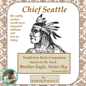 Non-Fiction book companion for Brother Eagle, Sister Sky by Susan Jeffers