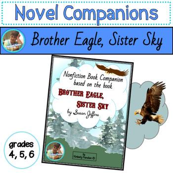 Non-Fiction book companion for Brother Eagle, Sister Sky b