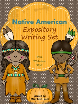 Native American Expository Writing Set