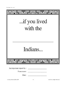Native American File Folder Report