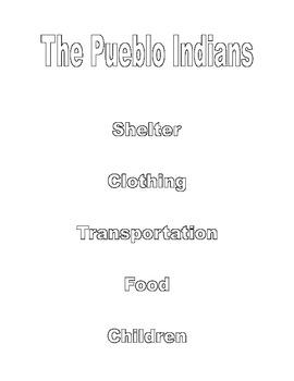 Native American Flip Book
