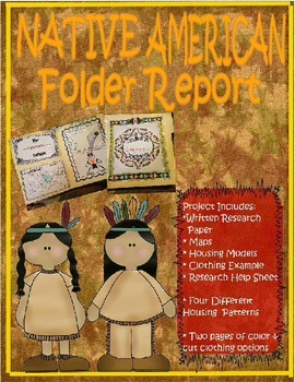 Native American Folder Report