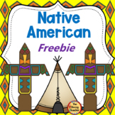 Native American Freebie
