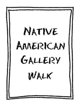 Native American Gallery Walk