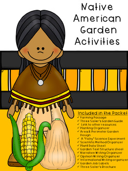 Native American Garden Activity Packet