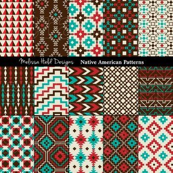 native american geometric patterns