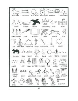 Native American Glyphs