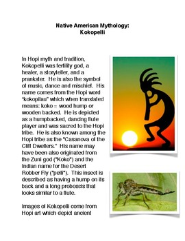 Native American Gods: Kokopelli