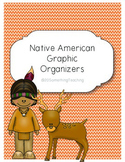 Native American Graphic Organizers (Powhatan, Lakota, and Pueblo)
