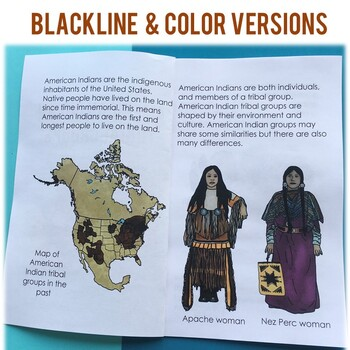 Native American People Groups: Informational Book