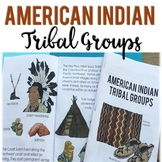 Native American People Groups: Informational Mini Book