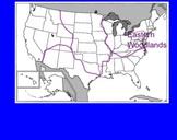 Native American Groups Note-taking (Powhatan, Pueblo, and Lakota)