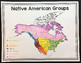 Native American Groups Posters Map and Interactive Notebook INB Set