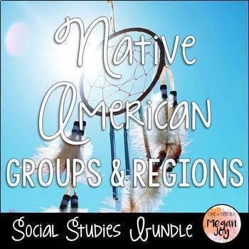 Native American Groups & Regions Bundle