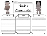 Native American Have/Are/Can Graphic Organizer