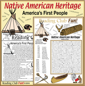 Native American Heritage: History, Culture, Tribal Words and Names