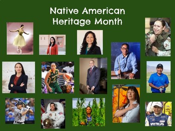 Native American Heritage Month Posters