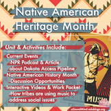 Native American Heritage Month: Social Studies Unit (w/ music)