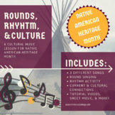 Native American Heritage Month - Song & Activity Bundle