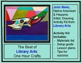Native American & Hispanic Artist John Nieto Drawing Digit