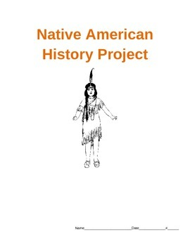 Native American History Biography Project