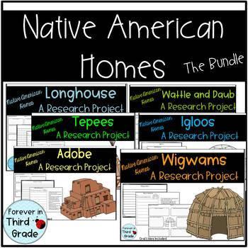 Native American Homes Bundle