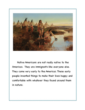Native American Unit Booklet