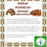 Native American Homes Flip Book