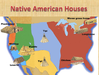Native American Houses PowerPoint