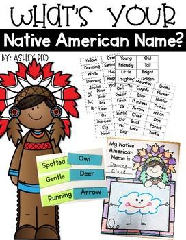 Native American Indian Names