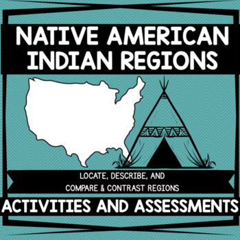 Native American Indian Regions BUNDLE