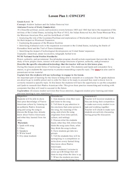 Native American Indian Removal Act Lesson Plan/Stations
