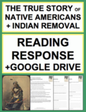 Native American & Indian Removal Reading Response, Answer
