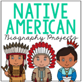 Native American Indian Tribes Brochure Projects, Mini Book