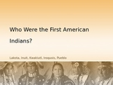 Native American Indian Tribes Presentation