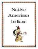 Native American Indians Informational Packet