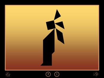 Native American Indians - Tangram Game - Interactive Power