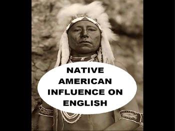 Native American Influence on English